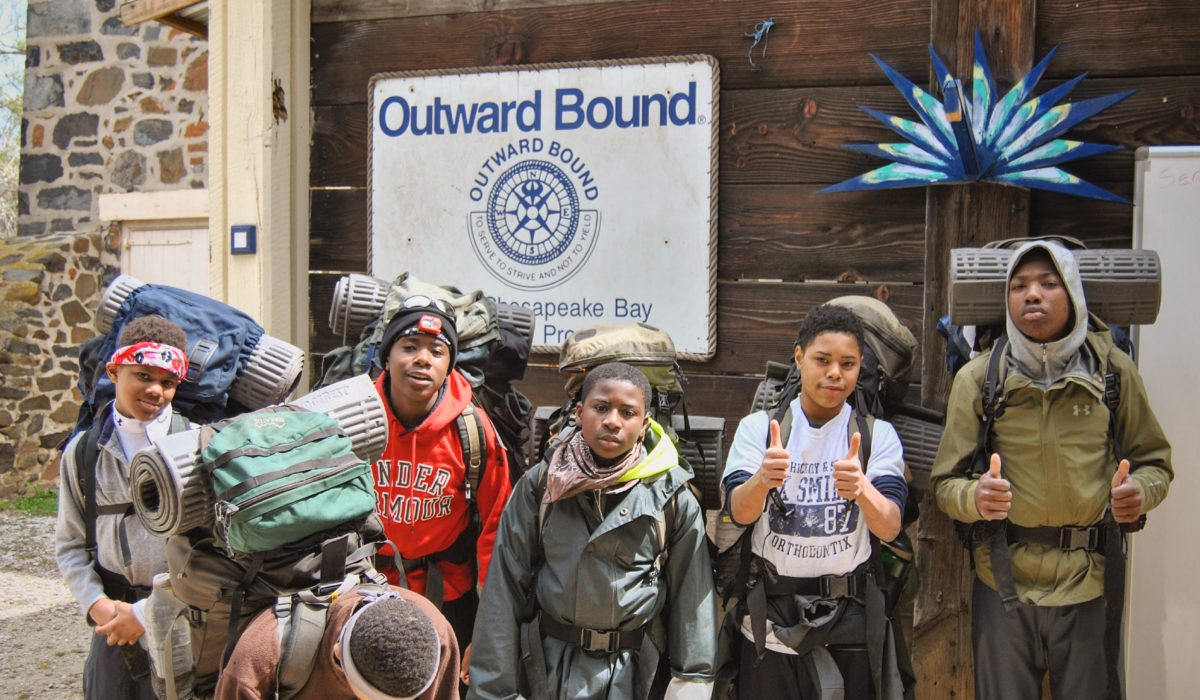 Leakin Park, Backpacking (© Baltimore Chesapeake Bay Outward Bound School)