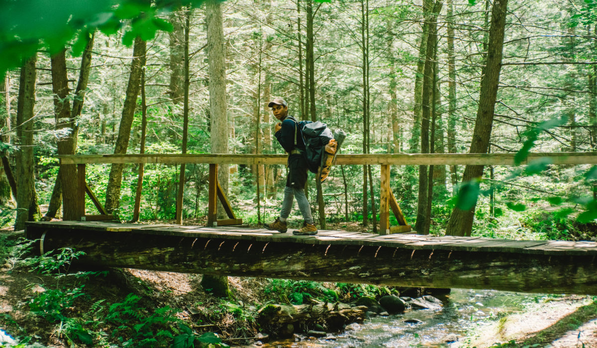 Appalachian Trail, Backpacking (© Baltimore Chesapeake Bay Outward Bound School)