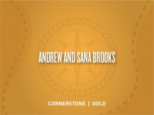 Andrew and Sana Brooks