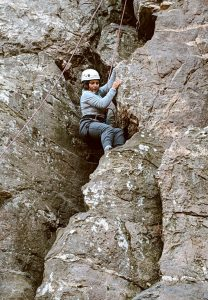 Maria Rock Climbing